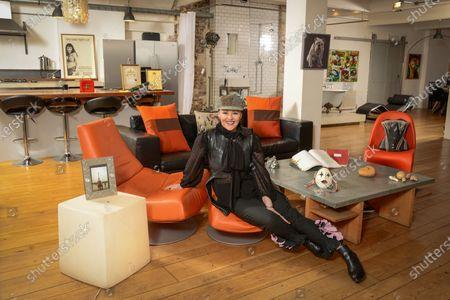 Editorial photo of 'My Haven' Frances Barber photoshoot, London, UK - 11 Jan 2020