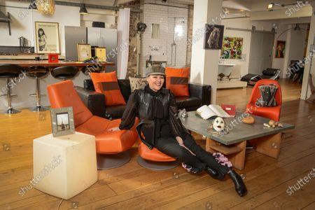 Editorial image of 'My Haven' Frances Barber photoshoot, London, UK - 11 Jan 2020