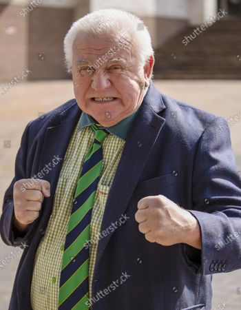 Stock Image of Fergus Wilson, Kent's Largest Private Landlord appeared at Maidstone Crown Court Today. He was appealing his Conviction against racially abusing a Traffic Warden.