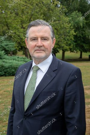 Barry Gardiner, Member of Parliament for Brent North. Photographed in Barham Park, Wembley, within his constituency.