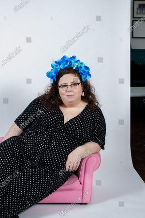 Portrait of Alison Spittle, Irish Comedian living in London.