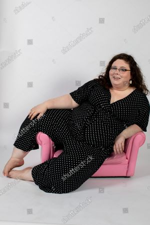 Stock Photo of Portrait of Alison Spittle, Irish Comedian living in London.