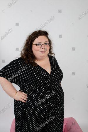 Editorial photo of Alison Spittle photoshoot, London, UK - 14 Aug 2020
