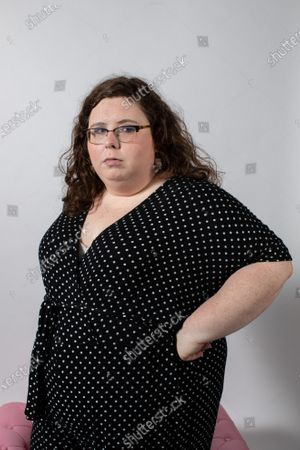 Stock Image of Portrait of Alison Spittle, Irish Comedian living in London.