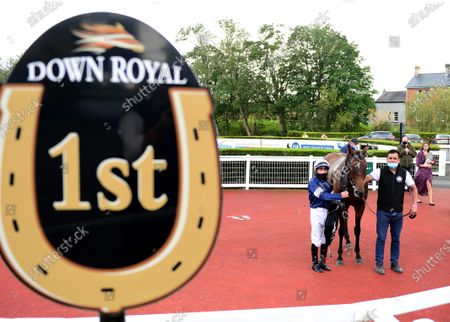 DOWN ROYAL 4-September-2020. MASTER OF REALITY and Wayne Lordan win for owner Lloyd Williams and trainer Joseph O'Brien.