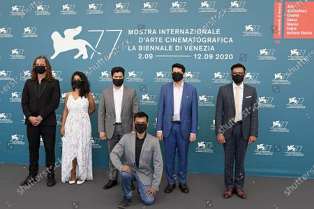 Editorial image of 'The Disciple' photocall, 77th Venice International Film Festival, Italy - 04 Sep 2020