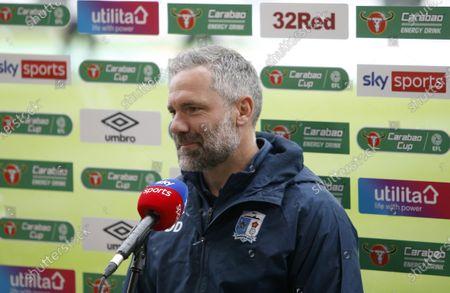 Arrow manager David Dunn talks to Sky Sports