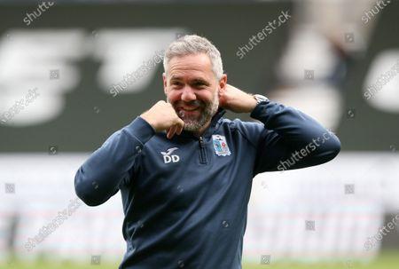 Barrow manager David Dunn
