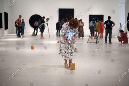 Editorial photo of Exhibition 'Ergo Sum' in Malaga, Spain - 04 Sept 2020