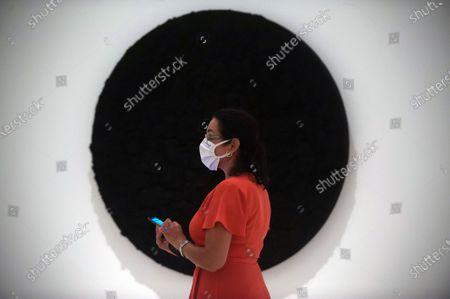 Editorial picture of Exhibition 'Ergo Sum' in Malaga, Spain - 04 Sept 2020