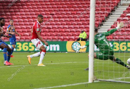 Ashley Fletcher scores Boros second goal