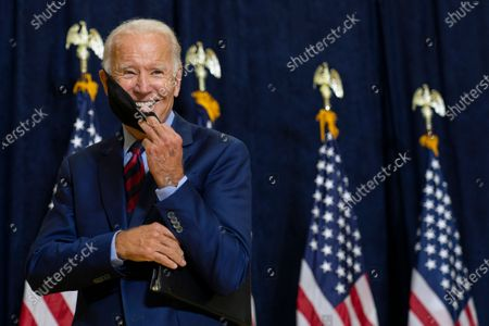 Editorial image of Election 2020 Biden, Wilmington, United States - 04 Sep 2020