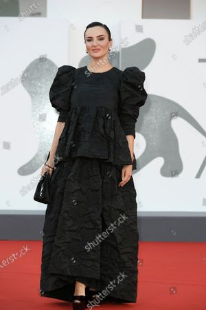 Editorial image of 'Padrenostro' premiere, 77th Venice International Film Festival, Italy - 04 Sep 2020