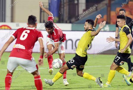 Editorial image of Al-Ahly vs Wadi Degla SC, Cairo, Egypt - 04 Sep 2020