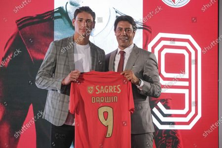 Editorial picture of Presentation of Darwin Nunez as new Benfica player, Seixal, Portugal - 04 Sep 2020