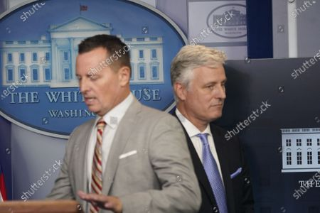 Editorial picture of O'Brien, Grenell, McEnany, Kushner news briefing, Washington, District of Columbia, USA - 04 Sep 2020