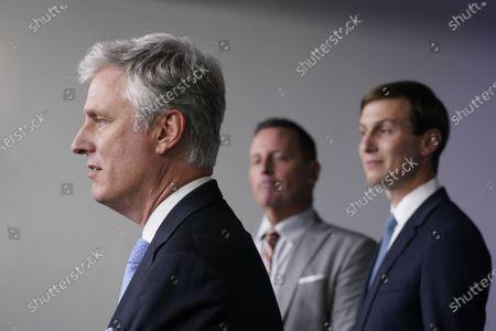 Editorial image of O'Brien, Grenell, McEnany, Kushner news briefing, Washington, District of Columbia, USA - 04 Sep 2020