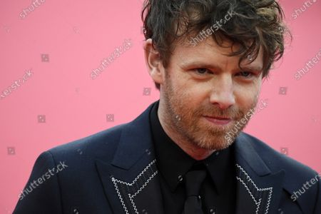 Stock Picture of Antoine Reinartz arrives on the red carpet prior to the premiere of 'Minari' during the 46th Deauville American Film Festival, in Deauville, France, 04 September 2020. The festival runs from 04 to 13 September 2020.