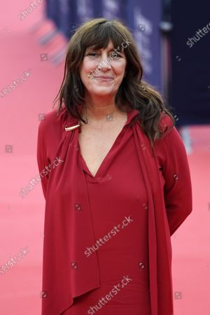 Sylvie Pialat arrives on the red carpet prior to the premiere of 'Minari' during the 46th Deauville American Film Festival, in Deauville, France, 04 September 2020. The festival runs from 04 to 13 September 2020.