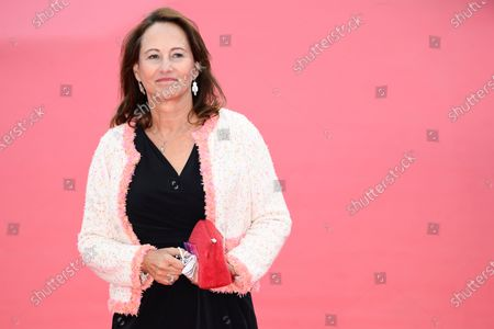 Stock Photo of French former Minister for Ecology Segolene Royal arrives on the red carpet prior to the premiere of 'Minari' during the 46th Deauville American Film Festival, in Deauville, France, 04 September 2020. The festival runs from 04 to 13 September 2020.