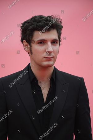 Vincent Lacoste arrives on the red carpet prior to the premiere of 'Minari' during the 46th Deauville American Film Festival, in Deauville, France, 04 September 2020. The festival runs from 04 to 13 September 2020.