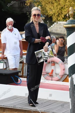 Editorial image of 77th Venice International Film Festival, Arrivals, Italy - 04 Sep 2020