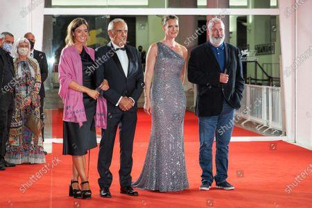 (L-R) Giulia Rosmarini, Alberto Barbera, Nicky Bentham and Director Roger Michell