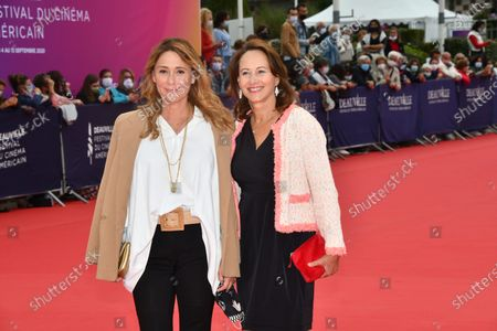 Segolene Royal and Daniela Lumbroso