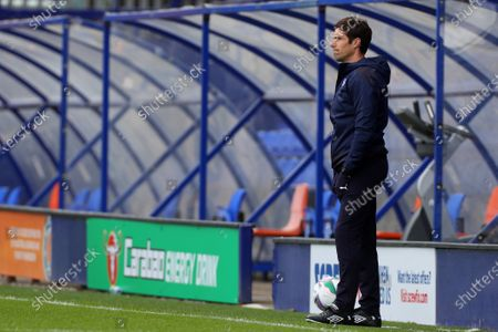 Tranmere Rovers manager Mike Jackson