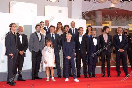 Francesco Gheghi, Lea Favino, Mattia Garaci, Barbara Ronchi, Director Claudio Noce, Andrea Calbucci, Pierfrancesco Favino, Nicola Maccanico