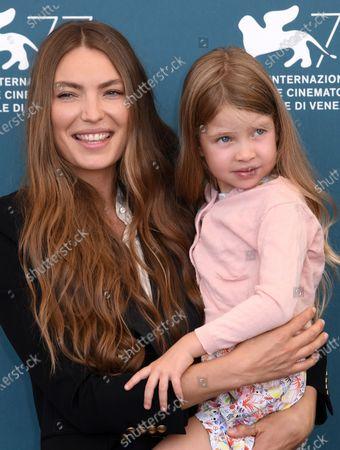 Cristina Chiriac and daughter Anna