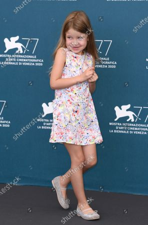 Cristina Chiriac and Abel Ferrara's daughter Anna