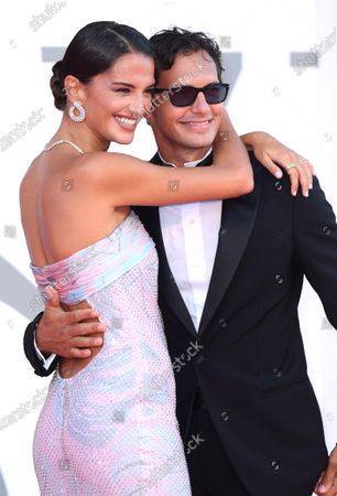 Stock Picture of Gabrielle Caunesil and Riccardo Pozzoli