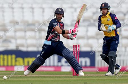 Heino Kuhn of Kent in batting action during Essex Eagles vs Kent Spitfires, Vitality Blast T20 Cricket at the Kia Oval on 5th September 2020