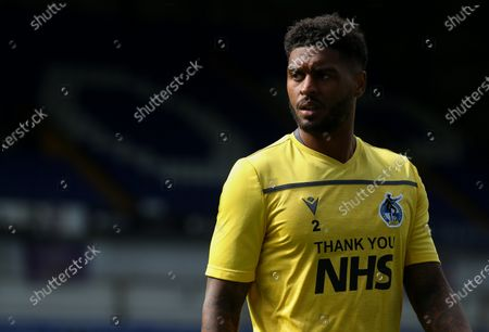 Mark Little of Bristol Rovers during the warm up