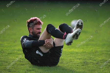 Soccer Aid World XI FC's Sergio Pizzorno during a training session in Manchester ahead of Soccer Aid for Unicef 2020. The match takes place on Sunday 6th September at Old Trafford, home of Manchester United. The match will be broadcast live and exclusive on ITV and STV 6:30pm.