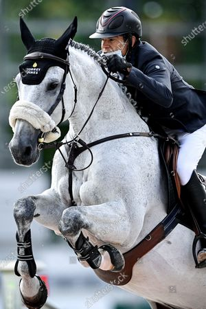 Editorial picture of Equestrian Aachen International Jumping, Germany - 05 Sep 2020