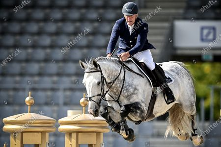 Editorial image of Equestrian Aachen International Jumping, Germany - 05 Sep 2020