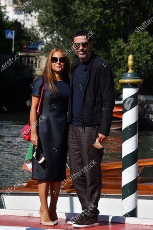 Alessandro Gassman con la moglie Sabrina Knaflitz