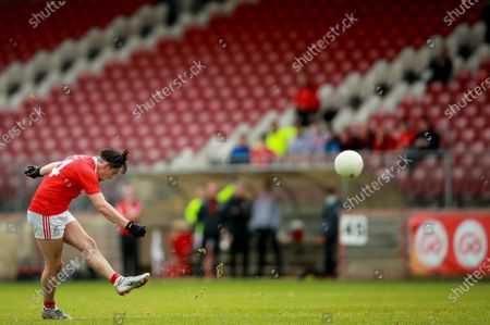 Editorial image of Tyrone Senior Football Championship Semi-Final, Healy Park, Omagh, Co.Tyrone - 05 Sep 2020