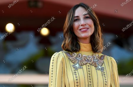 Gia Coppola arrives for the premiere of 'Mainstream' during the 77th annual Venice International Film Festival, in Venice, Italy, 05 September 2020. The movie is presented in the Orizzonti section at the festival running from 02 September to 12 September. The event is the first major in-person film fest to be held in the wake of the Covid-19 coronavirus pandemic. Attendees have to follow strict safety measures like mandatory face masks indoors, temperature scanners, and socially distanced screenings to reduce the risk of infection. The public is barred from the red carpet, and big stars are expected to be largely absent this year.