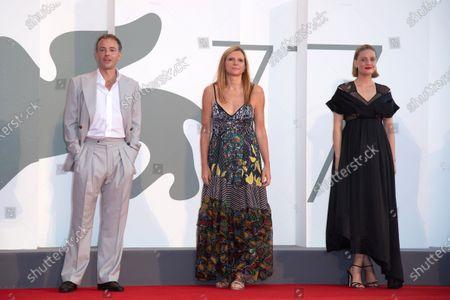 Stock Photo of Patrick Kennedy, Susanna Nicchiarelli, Romola Garai