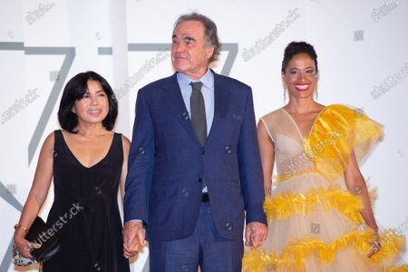 Oliver Stone, Sun-jung Jung and guest