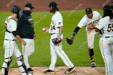 Editorial picture of Reds Pirates Baseball, Pittsburgh, United States - 05 Sep 2020