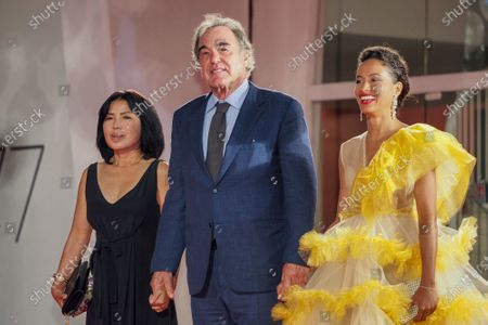Stock Picture of Sun-jung Jung, Oliver Stone and guest