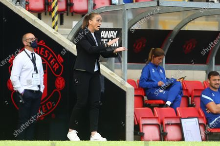 Casey Stoney, manager of Manchester United