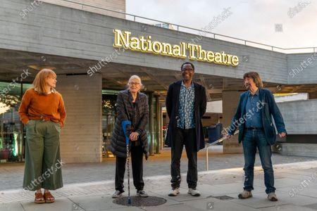 Maxine Peake, Vanessa Redgrave, Sir Lenny Henry and Trevor Nunn