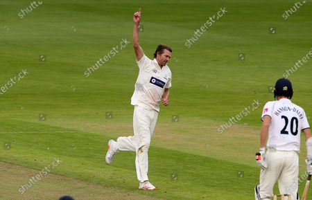 Editorial image of Glamorgan Cricket v Warwickshire - Bob Willis Trophy - 06 Sep 2020