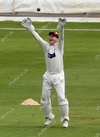 Editorial photo of Glamorgan Cricket v Warwickshire - Bob Willis Trophy - 06 Sep 2020