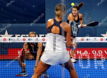 Editorial photo of Valencia Open 2020 final game of the World Padel Tour, Spain - 06 Sep 2020